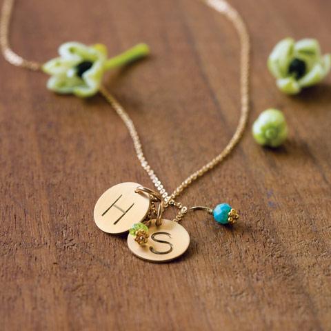 Birthstone & Charm Necklace Starter Sets