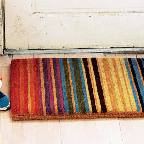 Amalfi Striped Door Mat