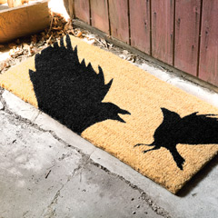 Flying Crows Estate Door Mat