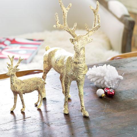 Papier Mâché Reindeer