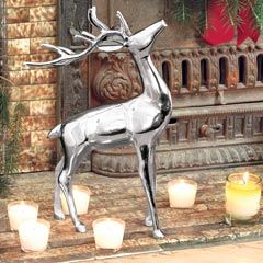 Noble Silver Reindeer