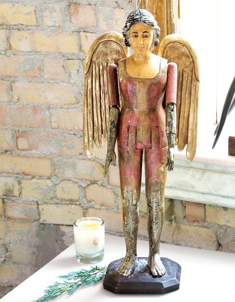 Celeste Wooden Angel