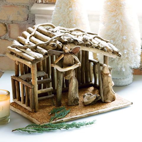Driftwood Nativity Set Christmas Olive Amp Cocoa