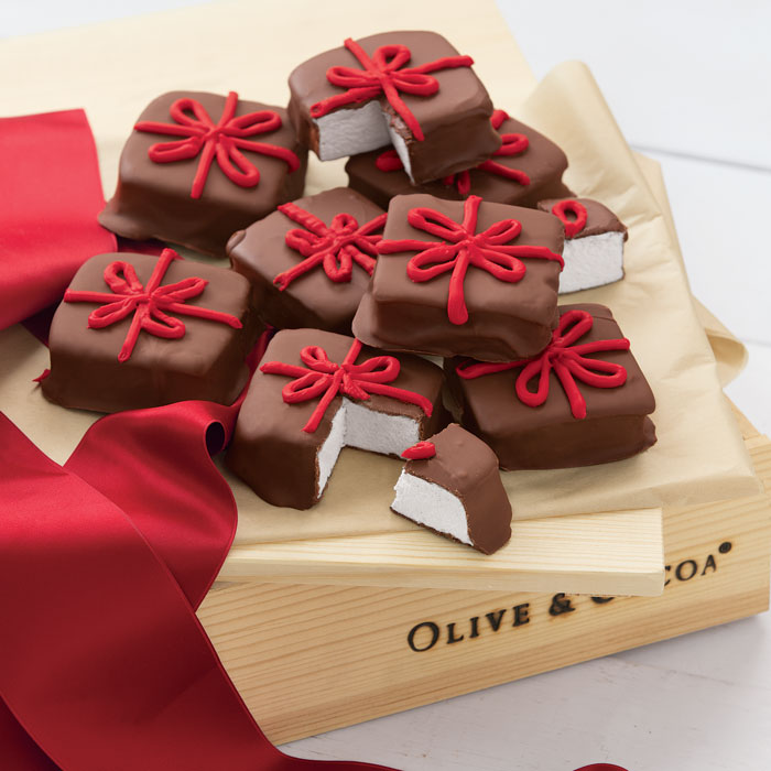 Chocolate Covered Marshmallow Presents, All Gifts: Olive & Cocoa