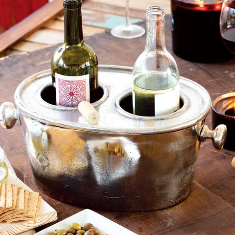 Duet Metal Wine Bucket