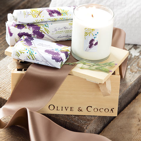 Lavender Fields Spa Crate