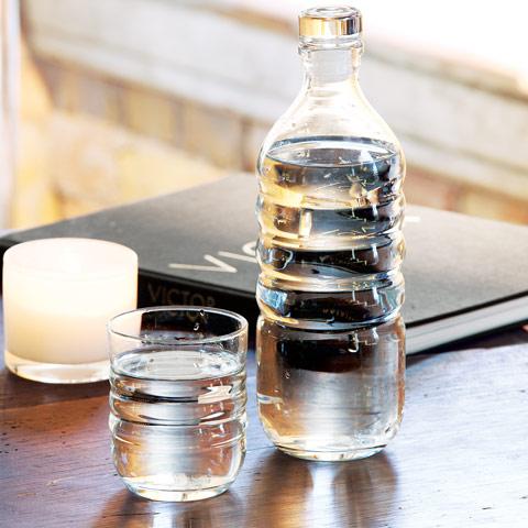Carafe & Drinking Glass