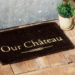 Our Château Door Mat