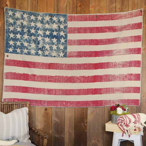 Old Glory Wall Hanging