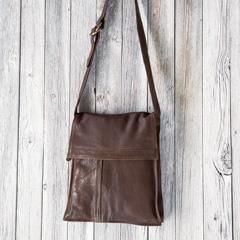 Camden Leather Satchel