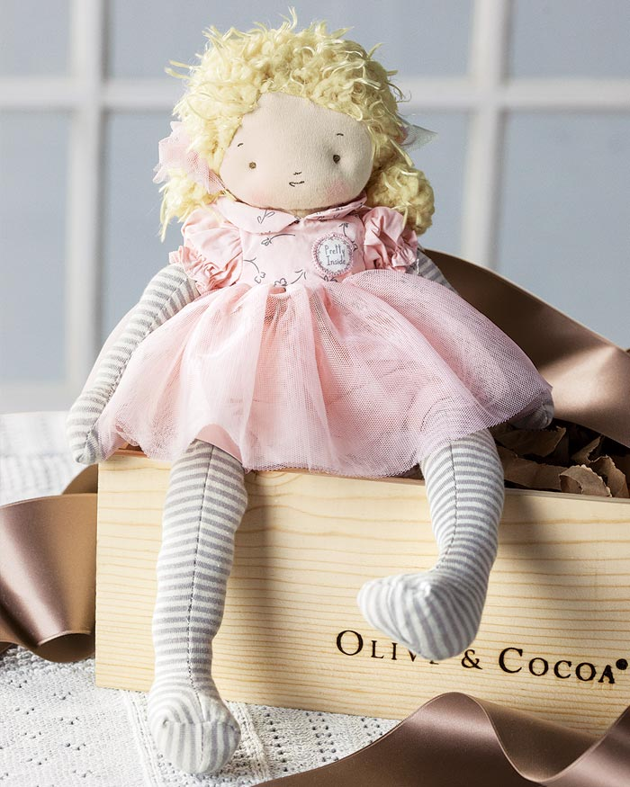 Little Miss Caroline Olive Cocoa