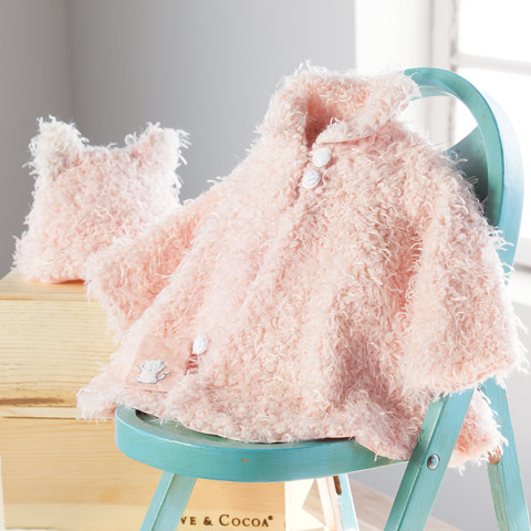 Posh Pink Swing Coat & Hat