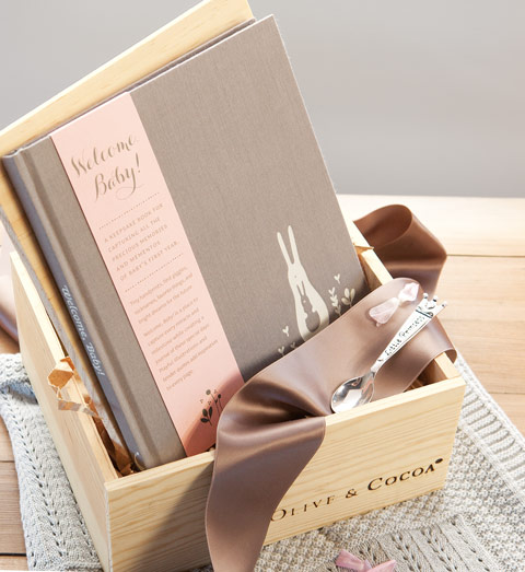 Heirloom Baby Girl Book & Spoon
