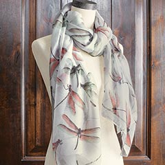 Dragonfly Twilight Scarf