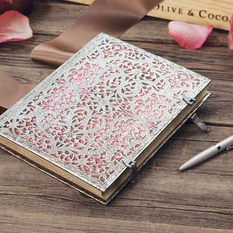 Filigree Hinged Journal