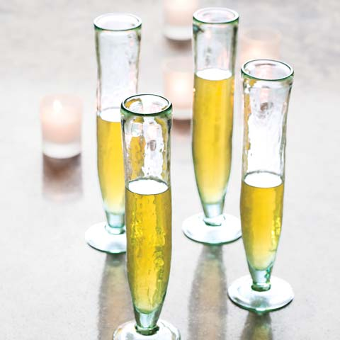 TD Ameritrade Institutional Delancy Champagne Flutes Set Of 2