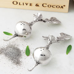 Radish Salt & Pepper Shakers