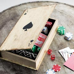 Library Poker Set