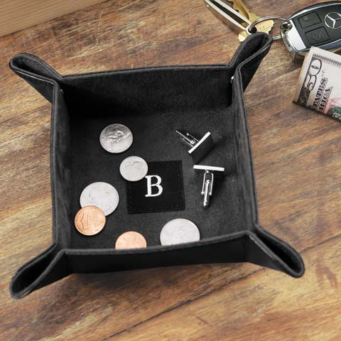 Monogrammed Catchall Tray