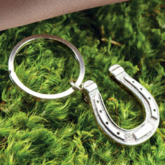 Lucky Horseshoe Key Ring