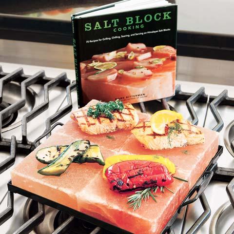 Salt Block Cooking Set
