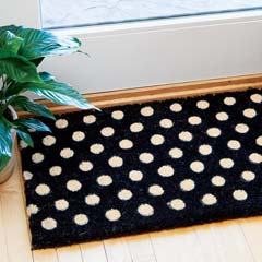 French Dot Door Mat