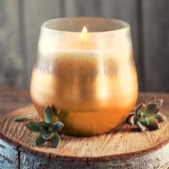 Woodland Copper Candle
