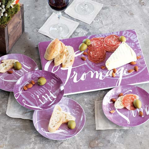Fromage & Vino Serving Set