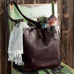 Harlow Leather Tote
