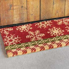 Snowdrift Estate Door Mat