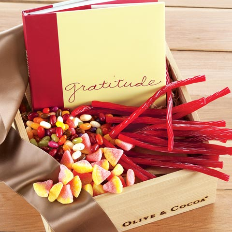 Gratitude Book & Sweets
