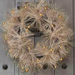 Mod Metallic Wreath
