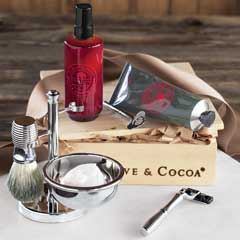 Gentleman's Deluxe Shaving Set