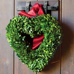 Heart Boxwood Wreath
