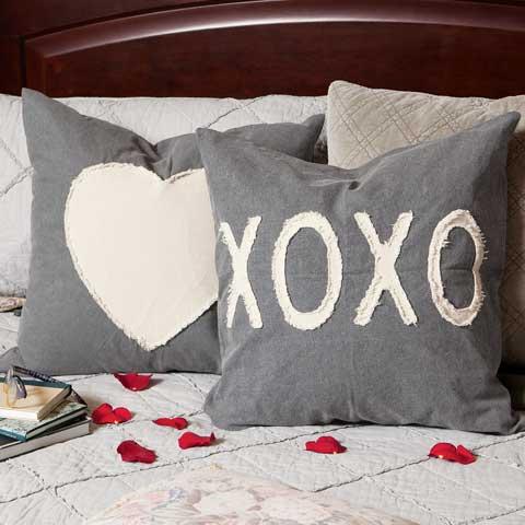 Heart & Xo Pillows