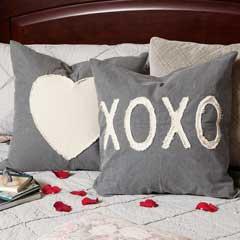 Heart & Xo Pillows - XO Pillow