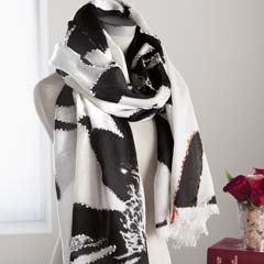 Abstract Blooms Scarf