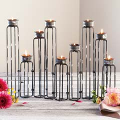 Ambrose Metal Candle Holder