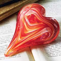Artisan Heart Paperweight