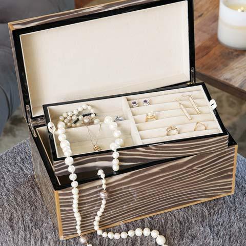 Luxe Zebra Jewel Box