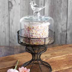 Petite Bird Dessert Cloche