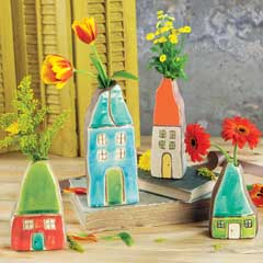 Artful Cottage Vases