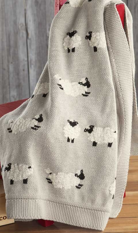 Counting Sheep Heirloom Blanket Baby Amp Kids Olive Amp Cocoa