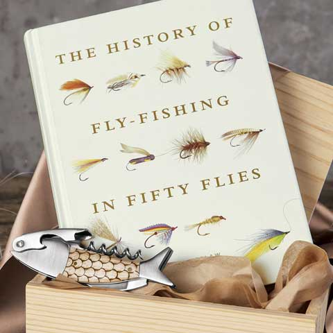 The History of Fly Fishing Book & Corkscrew