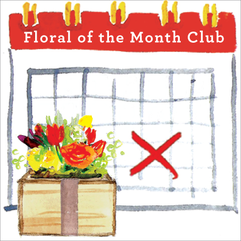 Floral of the Month Club