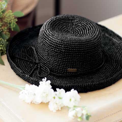 Ashton Raffia Sun Hat