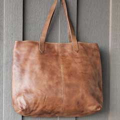 Bailey Tan Leather Tote