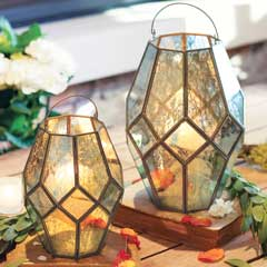 Gazebo Mercury Lanterns