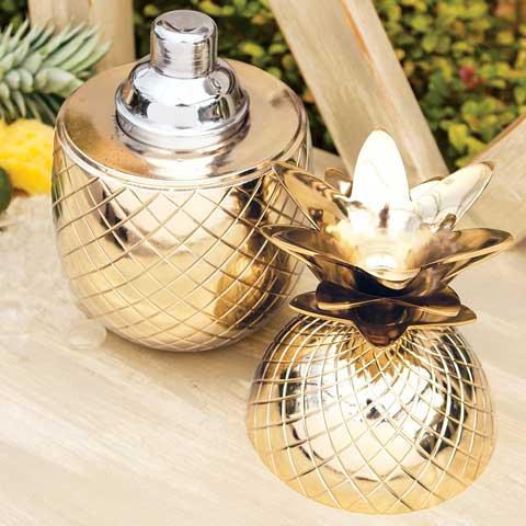 Gilded Pineapple Cocktail Chiller