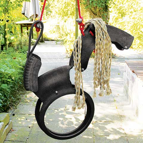 Recycled Tire Horse Swing All Gifts Olive Amp Cocoa
